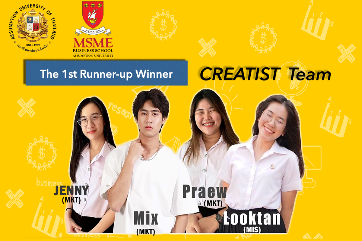 CONGRATULATIONS! Thailand MICE Youth Challenge