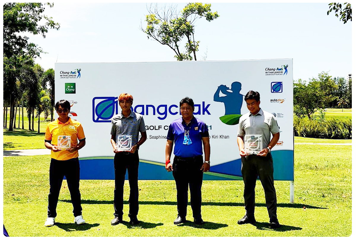 AU Student Golfer Achives the 2nd Runner Up in Bangchak Junior Golf Classic 2021