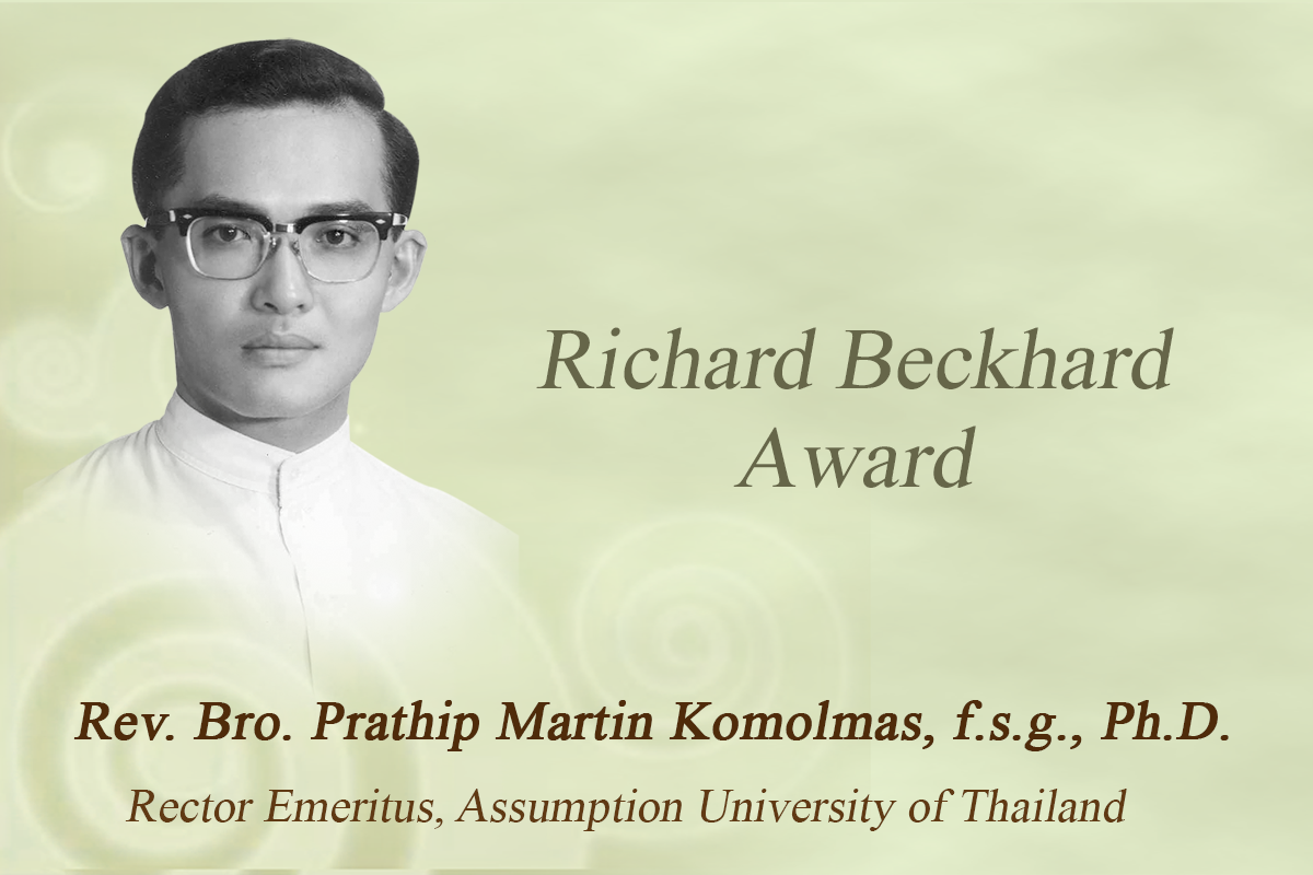 Rector Emeritus Received Award