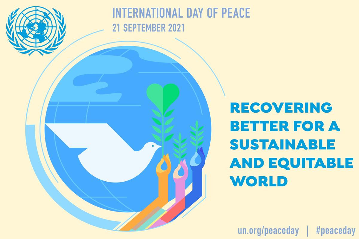 International Day of Peace, 21st  September